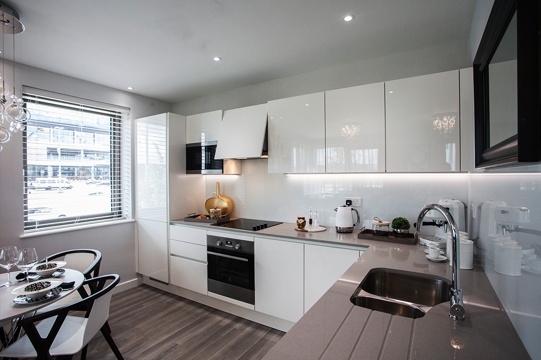 Show Flat Interior Design: Kitchen, Dining & Entertaining Space