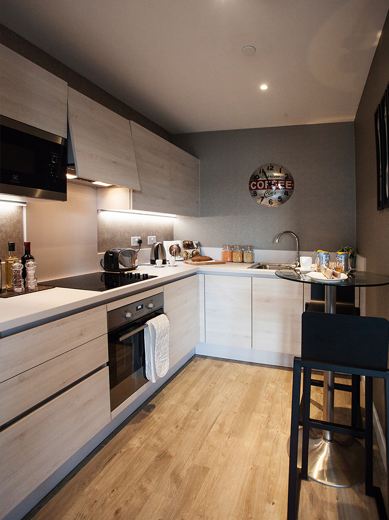 Cozy Modern Kitchen For Show Flat Inspiration