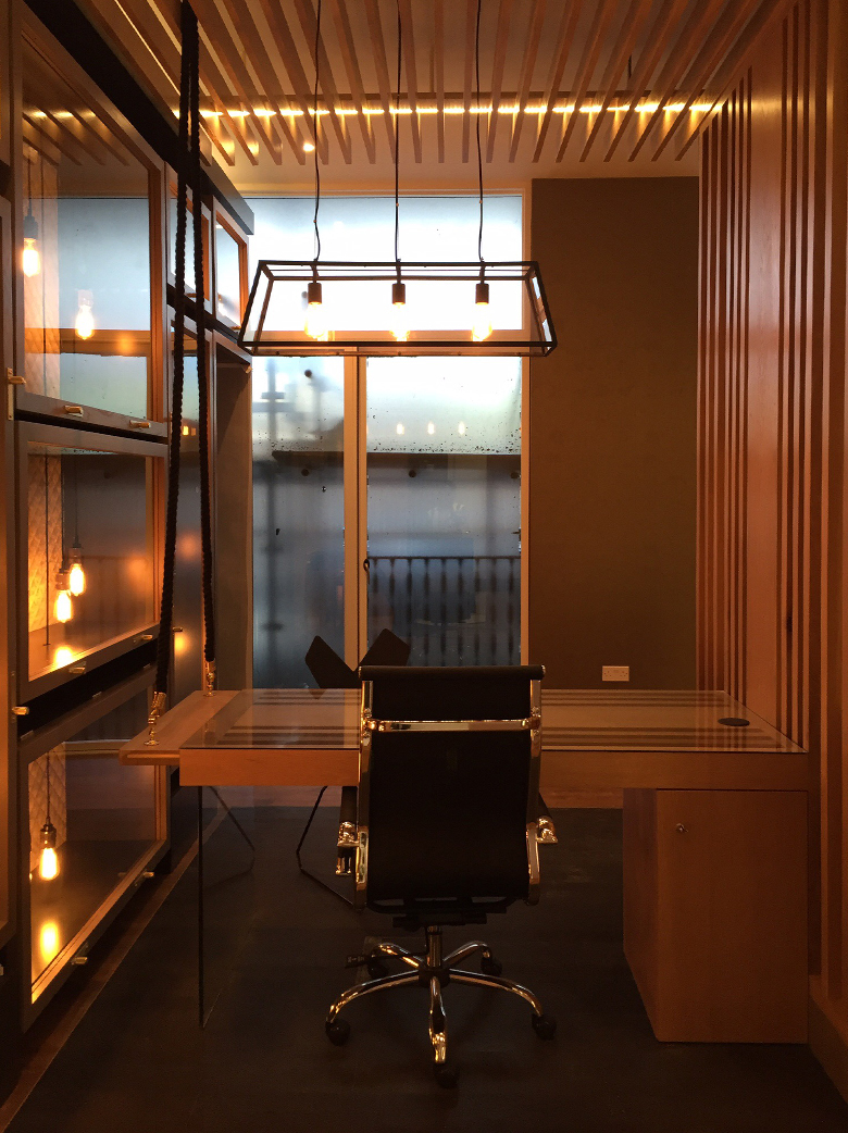 Work with a window view: office interior design